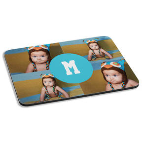 Custom Precious Collage Personalized Cushioned Mousepad