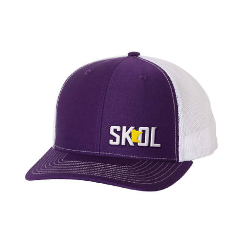 The Teehive SKOL Embroidered Snapback Cap : WI615