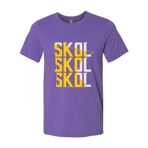 The Teehive SKOL Team Pride T-Shirt : WI617