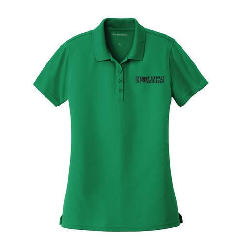 The Teehive Accelerate Custom Ladies Spirit Wear Polo : WI529