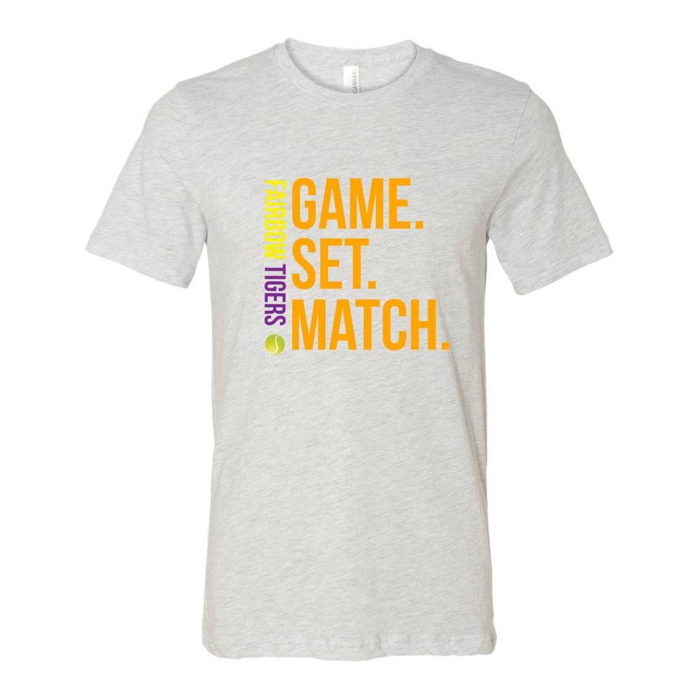 2606732b Adult Game Set Match Custom Tennis T-Shirt : WI090