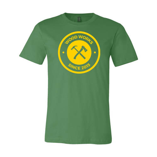 Adult Custom Carpenter's Woodworking Business T-Shirt : WI206