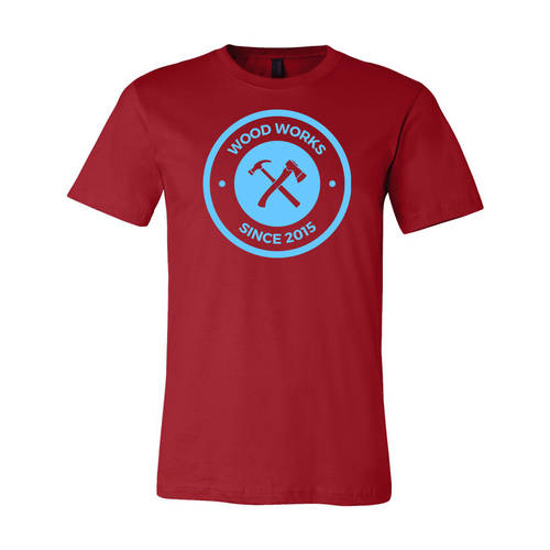 Youth Custom Carpenter's Woodworking Business T-Shirt : WI206c