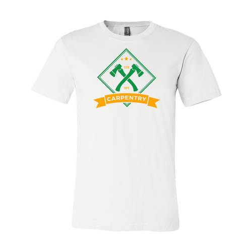 Youth Custom Carpentry Forever Woodworking Business T-Shirt : WI207c