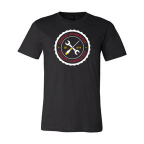 Adult Custom Mechanic's Repair Workshop Business T-Shirt