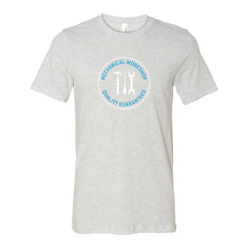 Adult Custom Mechanic's Workshop Business T-Shirt : WI209
