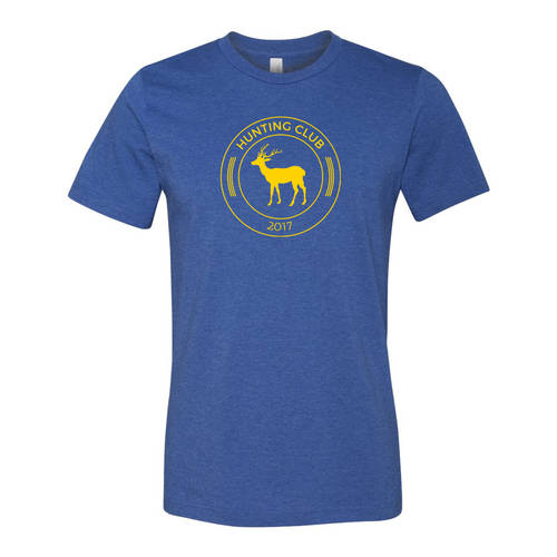 Youth Custom Broadside Hunting Club Outdoors T-Shirt : WI212c
