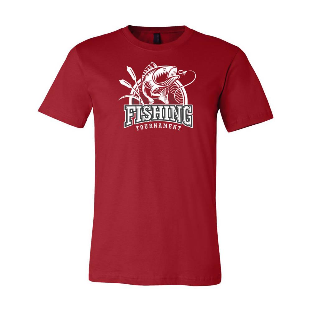 Youth Custom Bass Fishing Tournament Outdoors T Shirt Wi217c