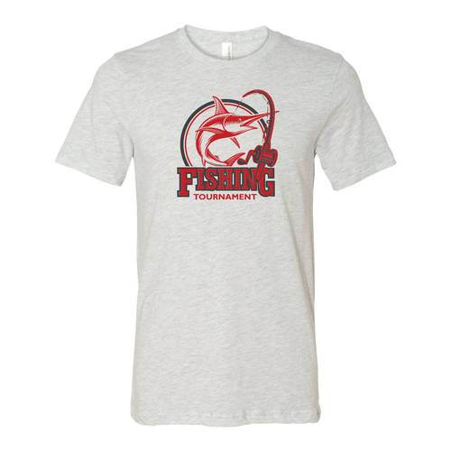 Adult Custom Marlin Fishing Tournament Outdoors T-Shirt : WI219