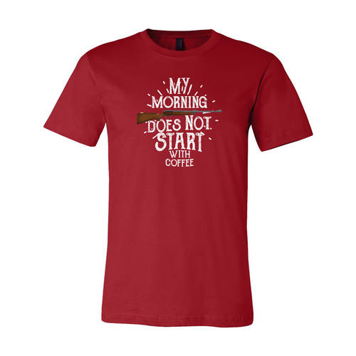 Adult Custom Opening Morning Outdoors T-Shirt : WI223