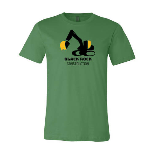 Adult Custom Heavy Earthwork Construction Business T-Shirt: WI240