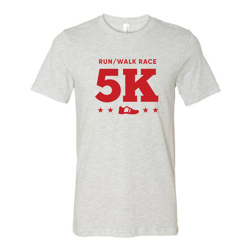 Adult Custom Dynamic Stride 5K Running Athletic T-Shirt : WI323