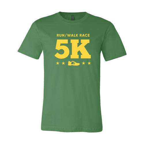 Youth Custom Dynamic Stride 5K Running Athletic T-Shirt : WI323c