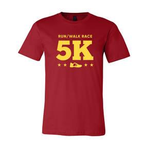 Adult Custom Dynamic Stride 5K Running Athletic T-Shirt