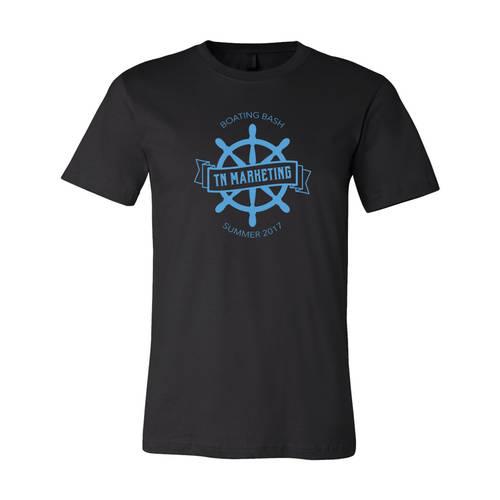 Adult Custom Spinnaker Sailing Club Party T-Shirt : WI335
