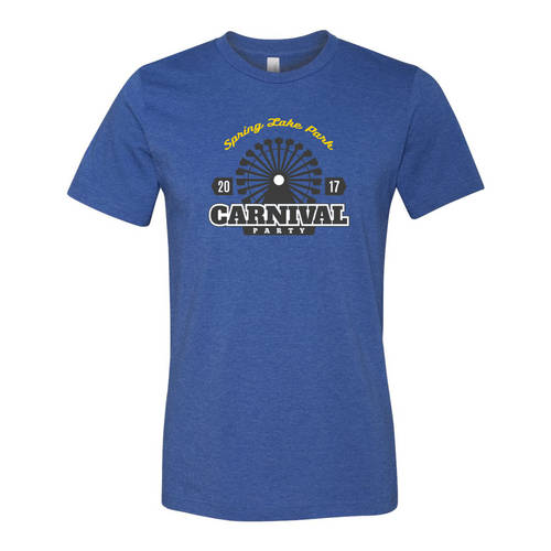 Adult Custom City Carnival County Fair T-Shirt : WI337