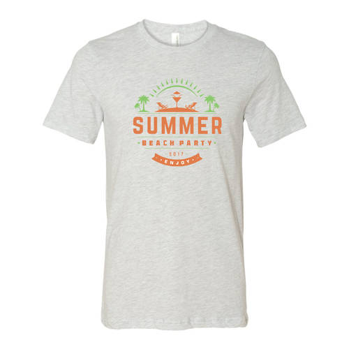 Youth Custom Summer Beach Party Family Vacation T-Shirt : WI338c