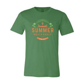 Adult Custom Summer Beach Party Family Vacation T-Shirt