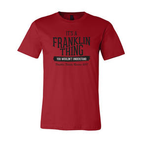 Youth Custom Its A Family Thing Family Reunion T-Shirt