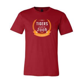 Adult Custom Crown Of Laurels Class Reunion T-Shirt