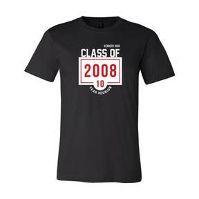 Adult Custom Glory Days Class Reunion T-Shirt