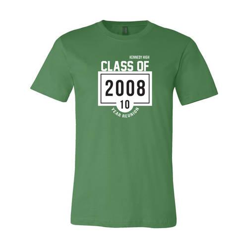 Adult Custom Glory Days Class Reunion T-Shirt : WI347