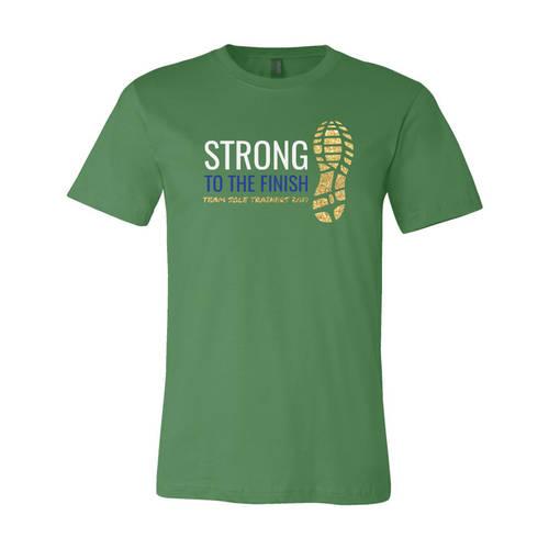 Adult Custom Official Support Crew Triathlon Glitter T-Shirt : WI354