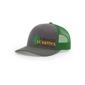Custom Embroidered I Survived St Patrick's Day Trucker Cap