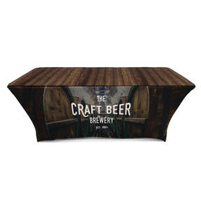 Custom Printed Into The Ratskeller Brewery Table Cover