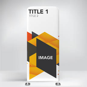 The Teehive Custom Printed Instant Impact Company Banner