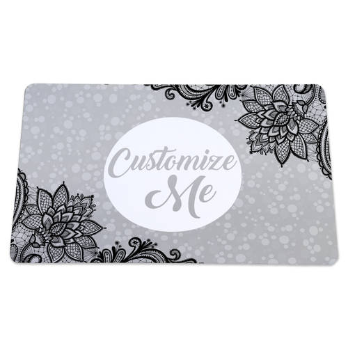The Teehive Custom Lace Dog Mat : WI620