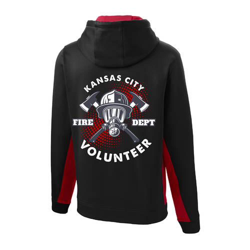 The Teehive Backdraft Custom Firefighter Hoodie : WI703