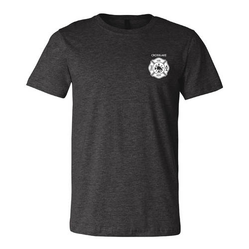 The Teehive Warden Custom Firefighter T-Shirt : WI704