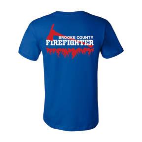 The Teehive Buffer Zone Custom Firefighter T-Shirt