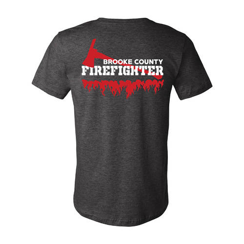 The Teehive Buffer Zone Custom Firefighter T-Shirt : WI705