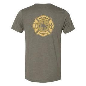 The Teehive Hotshot Custom Firefighter T-Shirt
