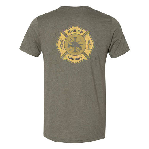 The Teehive Hotshot Custom Firefighter T-Shirt : WI706