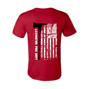 The Teehive Last Ones Out Custom Firefighter T-Shirt
