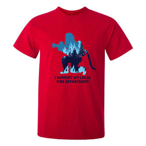 The Teehive Suppression Custom Firefighter T-Shirt