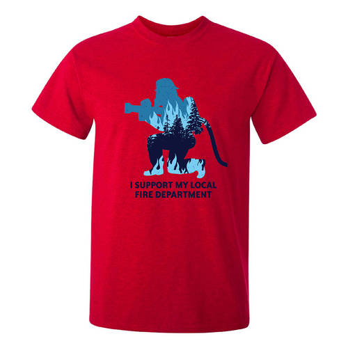 The Teehive Suppression Custom Firefighter T-Shirt : WI712