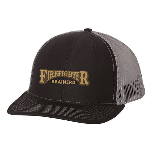 The Teehive Tanker Custom Firefighter Trucker Hat : WI713