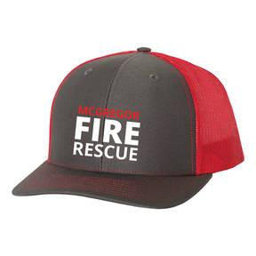 The Teehive Draft Custom Firefighter Trucker Hat