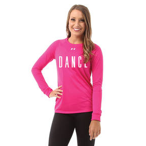 Hot Pink Dance Under Armour Long Sleeve