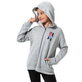 Youth Under Armour Dance Grey Sweatshirt