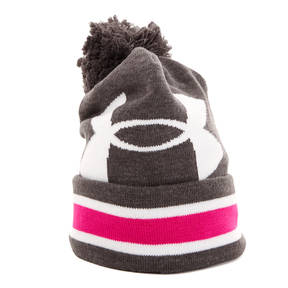 Under Armour Women's UA Power In Pink Pom Beanie