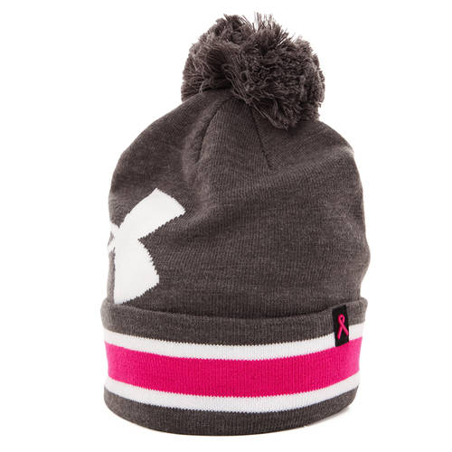 Under Armour Women's UA Power In Pink Pom Beanie : UA2220