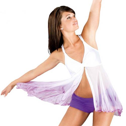 Watercolour Dancewear Dress : WCD-016