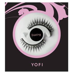 Frosting Eyelashes