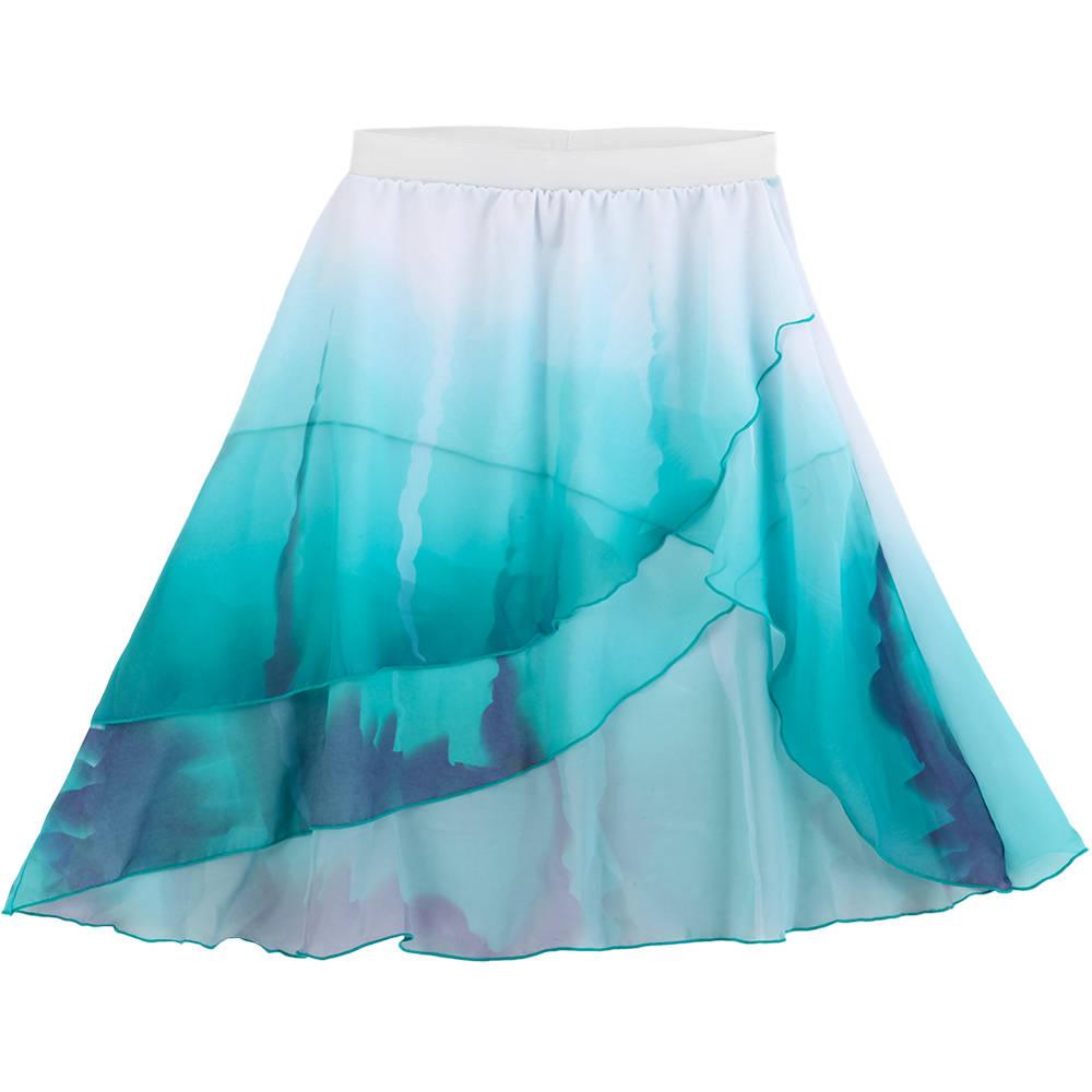 Layered Watercolor Skirt Ac1146