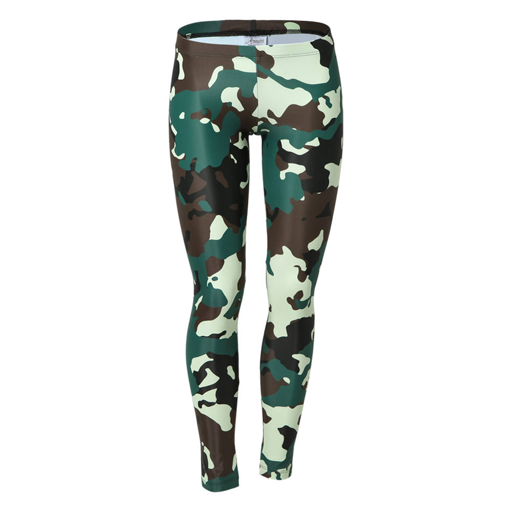 Girls Camo Leggings  AC1154C